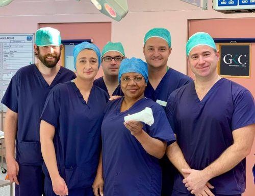 GKC Surgeon makes history