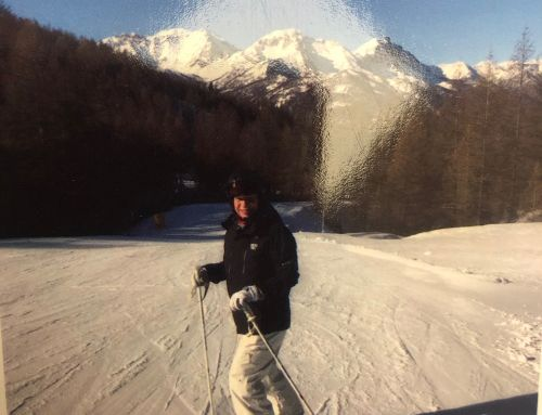 Skiing 1 Year after Total Knee Replacement